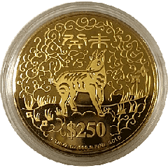Singapore Mint Lunar Gold Coin
