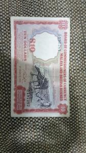 $10 MALAYA AND BRITISH