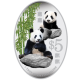 2012 Giant Panda $5 Silver Proof Colour Coin