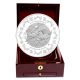 The Singapore Mint Lunar Horse 1 kg 999 Fine Silver Proof-Like Medallion