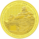 Maitreya Buddha Of Vietnam 1/4  oz 999.9 Fine Gold Proof Coin