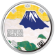Japan 47 Prefectures 30th Shizuoka 1000 Yen 999 Fine Silver Proof Colour Coin