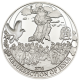 Biblical Stories Resurrection Of Jesus 1/2  oz 925 Silver Proof Coin