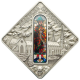 Sacred Art - Holy Windows AugsBurg Church 925 Silver Coin Series