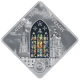 Sacred Art - Holy Windows St Vitus Cathedral 925 Silver Coin Series