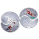Yin-Yang Complementary Horse 925 Silver Proof Coin Set