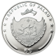 World Of Wonders - Las Ventas Sterling Silver Proof Colour Coin