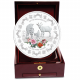 The Singapore Mint Lunar Goat 1 kg 999 Fine Silver Proof Medallion