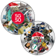SG50 Puzzle Medallion Set