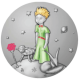 The Little Prince Silvered Bronze Proof Medallion