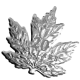 Canada's First Ever Cut-Out Maple Leaf 999 Fine Silver Proof Coin