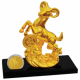 Fortune Goat Gold-Plated Figurine