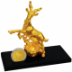 Bountiful Goat Gold-Plated Figurine