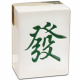 Golden Fa Mahjong Tile Money Bank