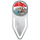 SG50 Stainless Steel Bookmark