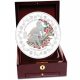 The Singapore Mint Lunar Monkey 1 kg 999 Fine Silver Proof Medallion