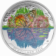 Landscape Illusion - Butterfly 999 Fine Silver Proof Colour Coin