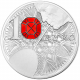 French Excellence - Baccarat 10€ 900 Fine Silver Proof Coin