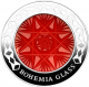 Bohemia Glass 2 oz 999 Fine Silver Proof Coin