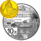 50th Founding Anniversary Of Tibetan Autonomous Region 1/4 oz 999.9 Fine Gold + 1 oz 999 Fine Silver Proof Coin Set