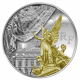 Treasures of Paris: Opera Garnier 10€ 900 Fine Silver Proof Coin With Gold Gilding