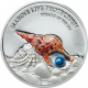 Miracle Of The Sea Marine Life Protection 1 oz 999 Fine Silver Proof Colour Coin