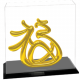 Blissful Fortune Gold-plated Figurine