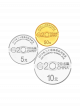 G20 Hangzhou Summit 2016 999.9 Fine Gold + 999 Fine Silver Proof Coin Set