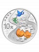2017 Offspring (Gourd) 999 Fine Silver Proof Coin