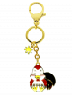 Rooster Zodiac Bag Charm