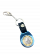 TS $1 Coin Blue Keyring II with Black Leather Strap