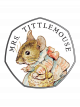 Celebrating Beatrix Potter - Mrs. Tittlemouse 925 Fine Silver Proof Coin