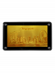 Singapore Skyline Goldfoil Fridge Magnet