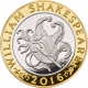 Shakespeare Comedies 925 Silver Proof Coin