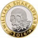 Shakespeare Tragedies 925 Silver Proof Coin