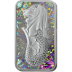 PAMP Radiant Merlion 1 oz 999 Fine Silver Proof-Like Ingot With Hologram