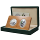 2012 China & Singapore Giant Panda 2-In-1 Commemorative Coin Set