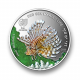 Red Sea Marine Life - Lionfish 1 oz 999 Fine Silver Proof Colour Coin
