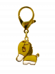 Gold Plated Horse Lunar Charm