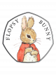 2018 Celebrating Beatrix Potter - Flopsy Bunny 925 Fine Silver Proof Coin