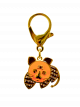 Gold Plated Tiger Lunar Charm