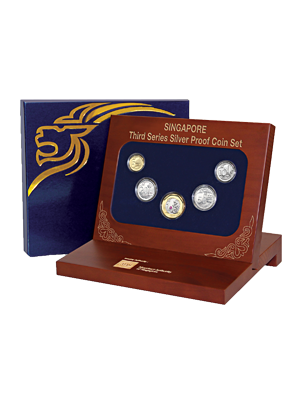Third Series Silver Proof Coin Set