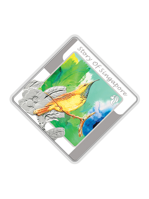 Story Of Singapore - Bird Series 1 oz 999 Fine Silver Medallion