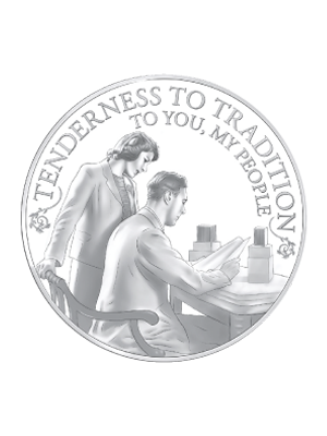 Princess To Monarch - Broadcasts Princess 925 Silver Proof Coin