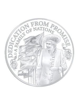 Princess To Monarch - Commonwealth Monarch 925 Silver Proof Coin
