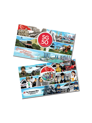 SG50 Medallion Pack 2015