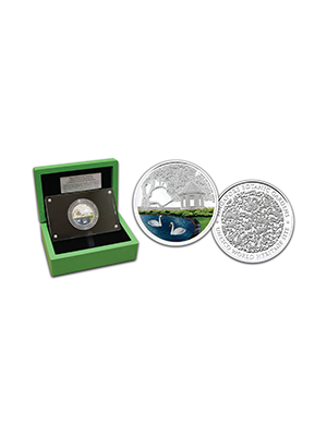 Singapore Botanic Gardens 1 oz 999 Fine Silver Proof-Like Medallion