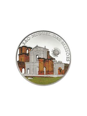 World Of Wonders - Sao Miguel Sterling Silver Proof Colour Coin