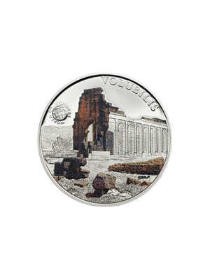 World Of Wonders - Volubilis Sterling Silver Proof Colour Coin