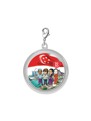 Chrome-Plated SG50 Pendant